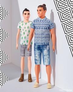 la Mattel cambia il look a Ken