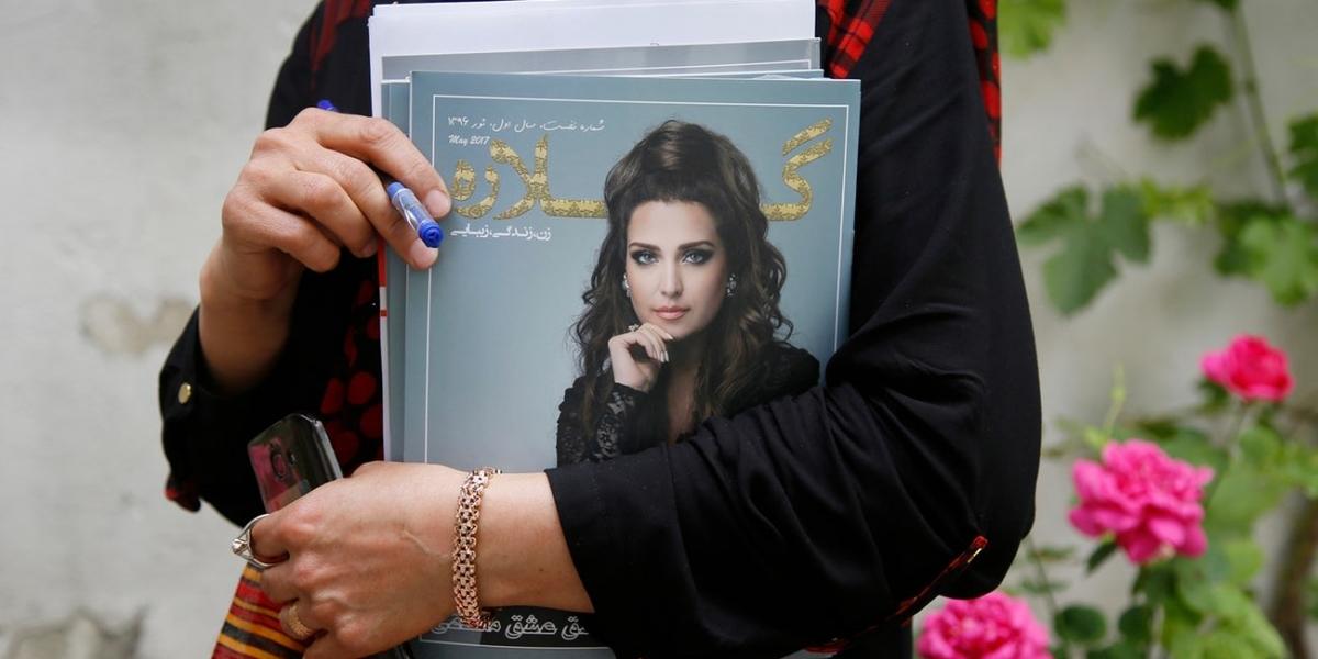 Gellara primo magazine afgano femminile
