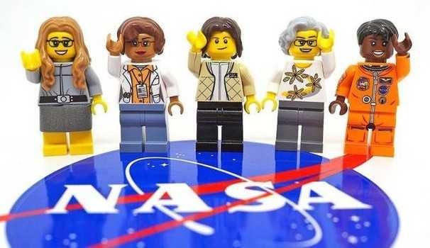 Lego donne della Nasa