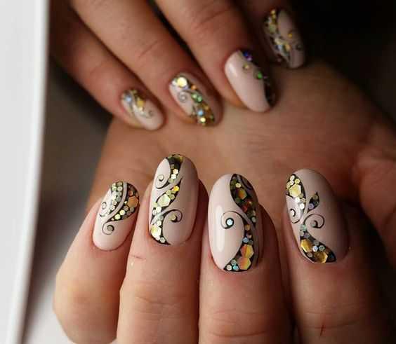 Idee nail art autunno