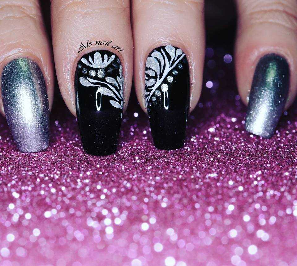unghie di capodanno
