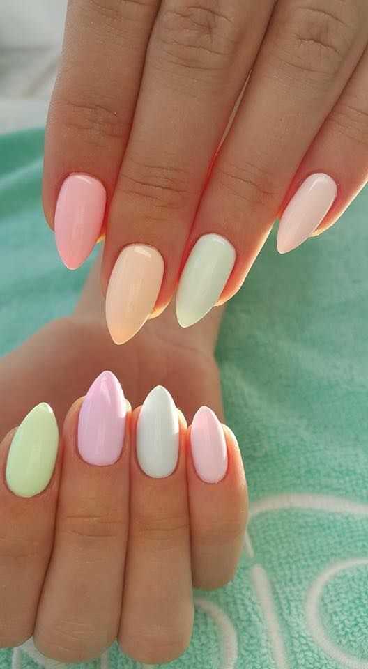 trend nails 2018
