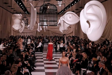 Christian Dior, Parigi, 22 gennaio 2018 (FRANCOIS GUILLOT/AFP/Getty Images)
