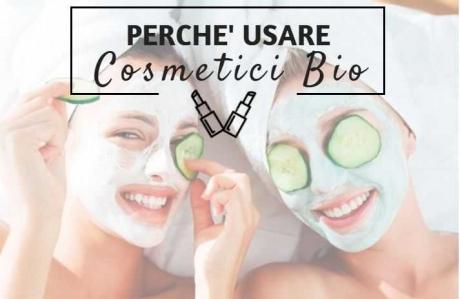 perchè usare cosmetici bio
