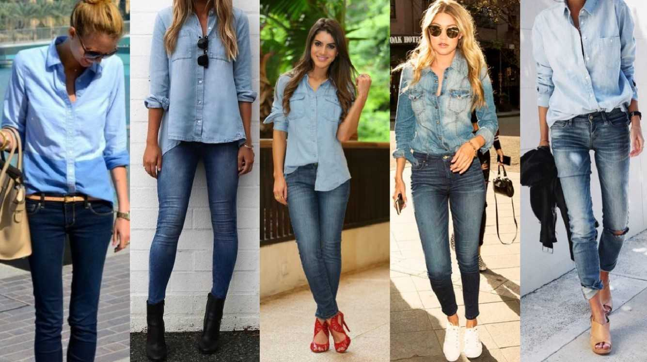 best loved 2a578 8f244 Camicia di jeans, come abbinarla | Makeup Delight