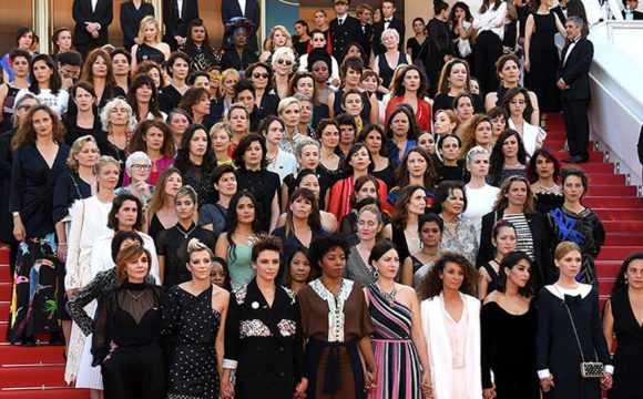 Festival di Cannes 2018 marce donne