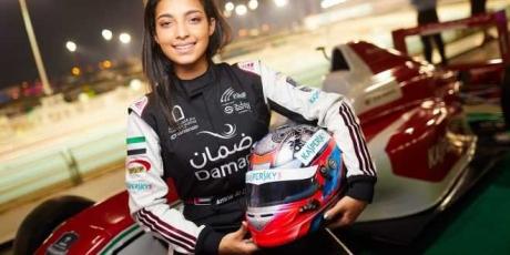 Amna Khaled Al Qubaisi prima pilota araba Formula 4