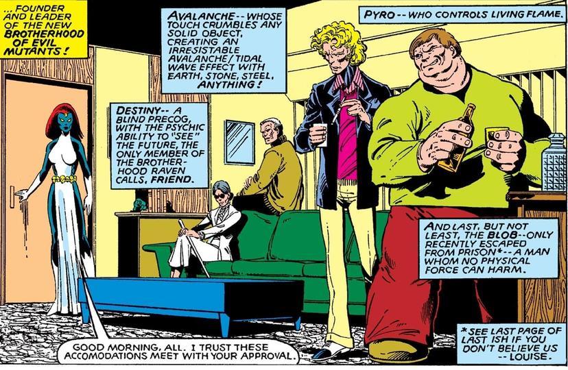 Mystica e Destiny Uncanny X-Men 141