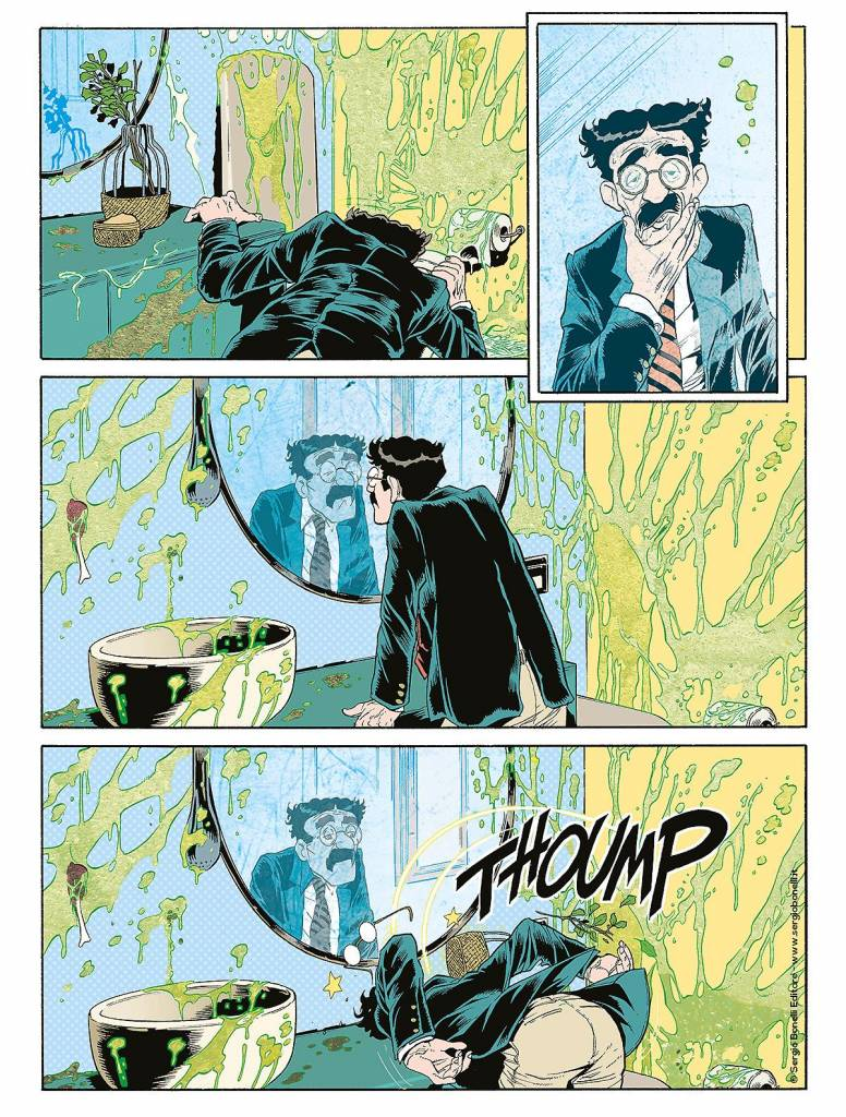 Groucho Secondo Dylan Dog Color Fest 34