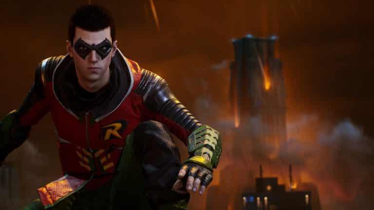 Robin in Gotham Knights