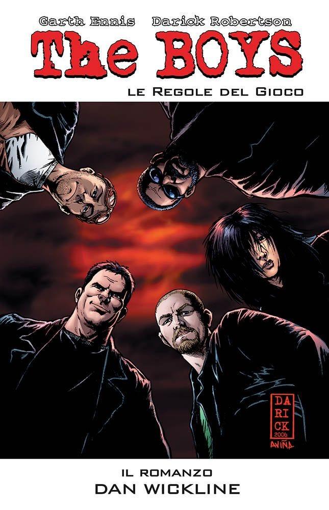 The Boys le regole del gioco - Il romanzo