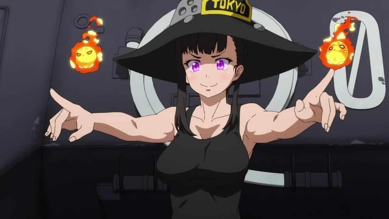 fire force anime tv