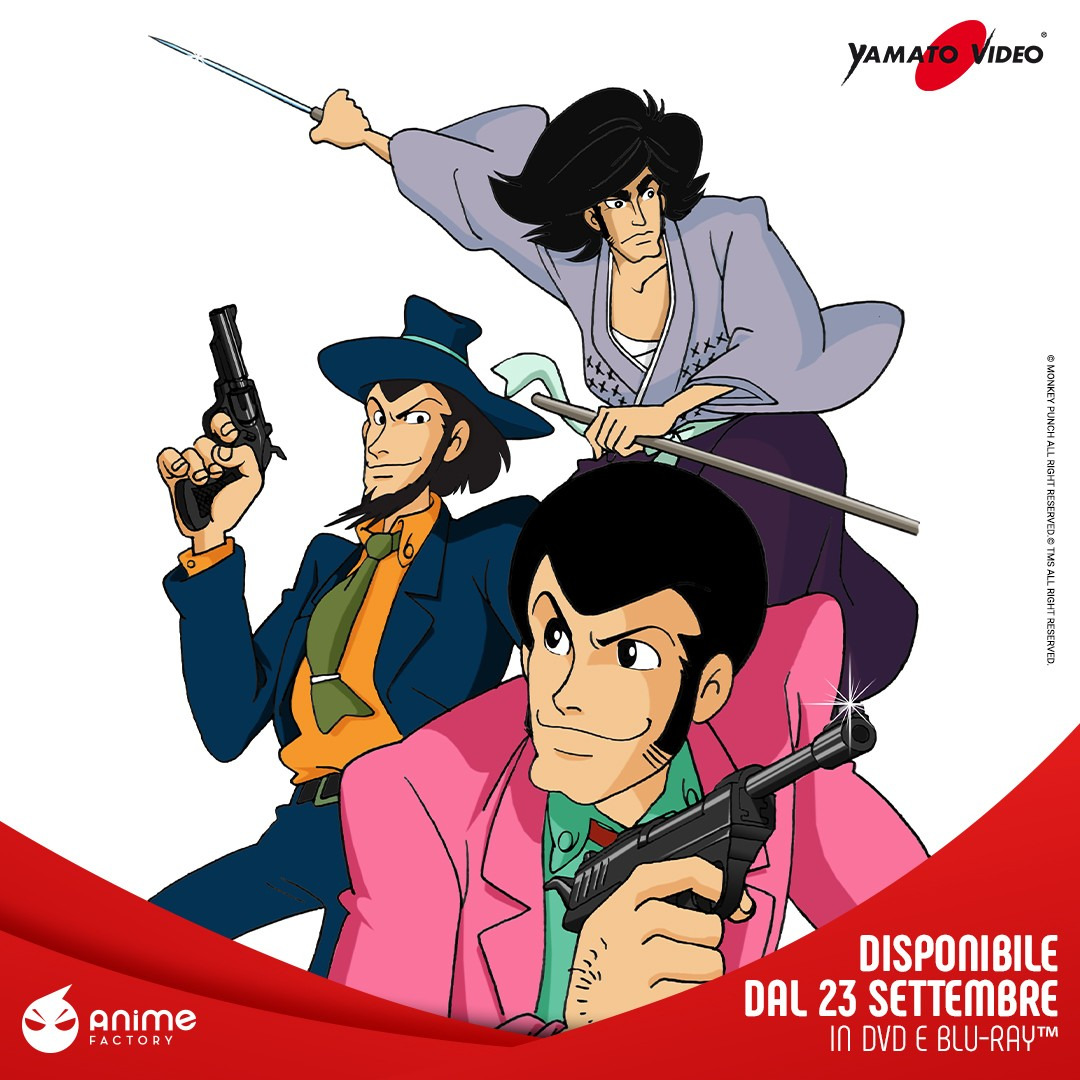 lupin III parte 3 anime factory
