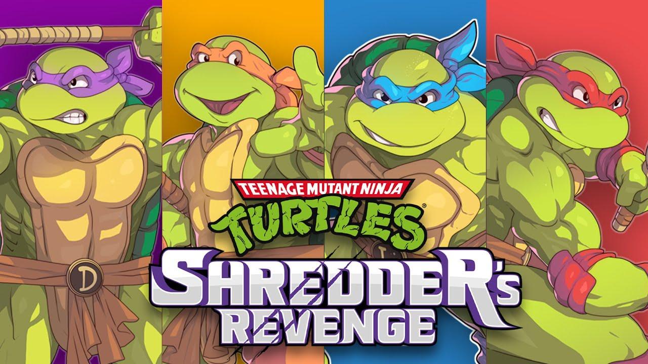 ninja turtles shredder's revenge