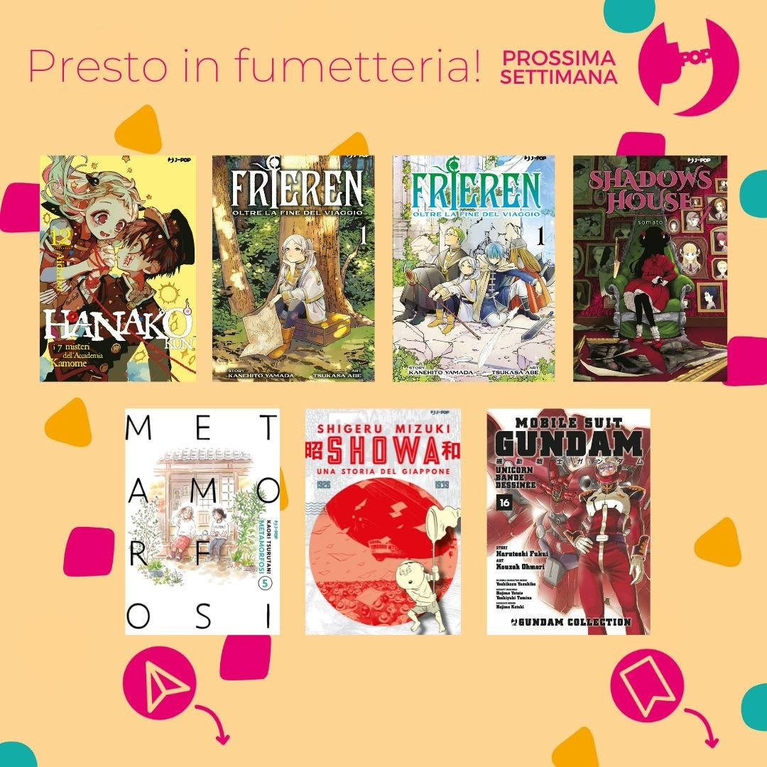 Le uscite J-POP Manga ed Edizioni BD del 13 Ottobre 2021