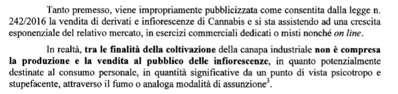 direttiva cannabis light canapa shop 1