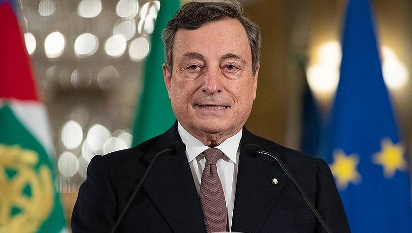 Draghi dimezzato