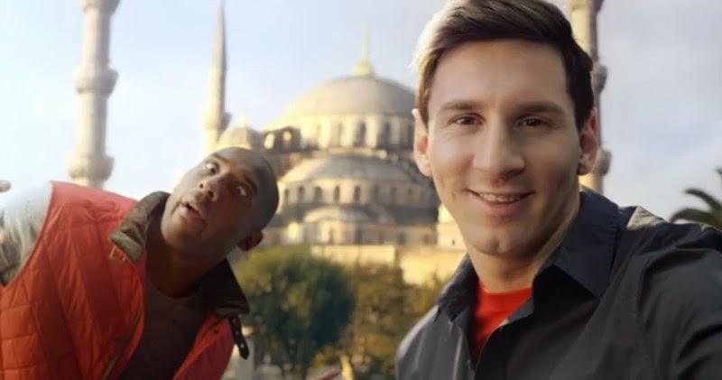 Kobe Bryant vs Leo Messi - Turkish Airlines Spot