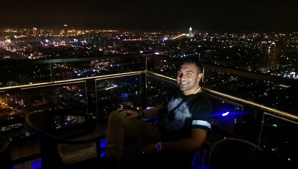 vista dall'alto Bangkok