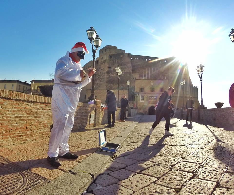 Pulcinella a Castel Dell'Ovo