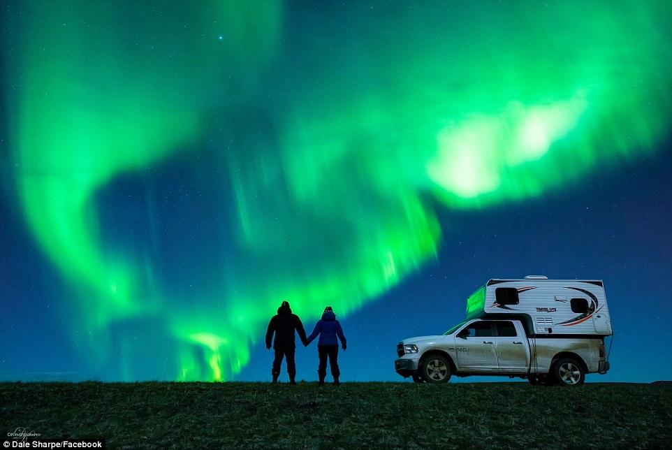 proposta matrimonio aurora boreale