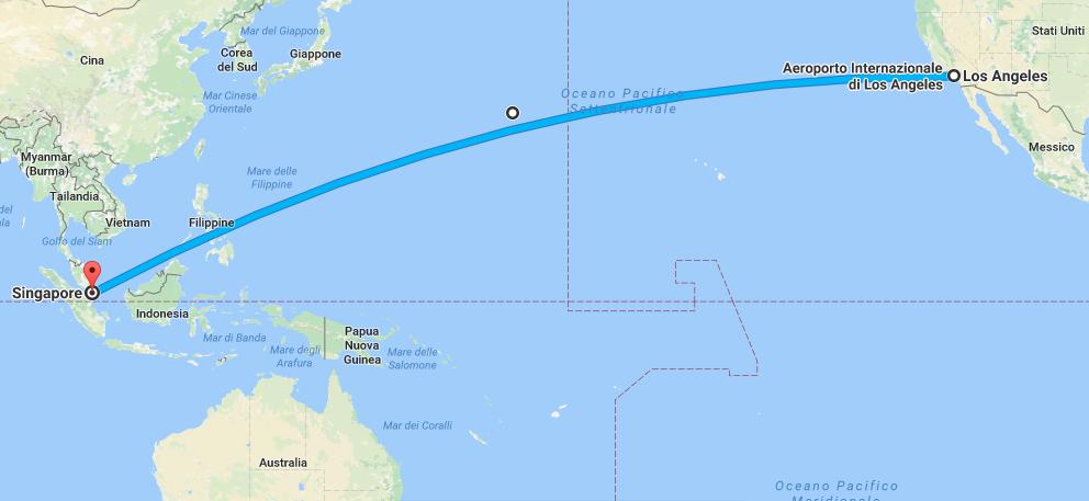 volo più lungo del mondo