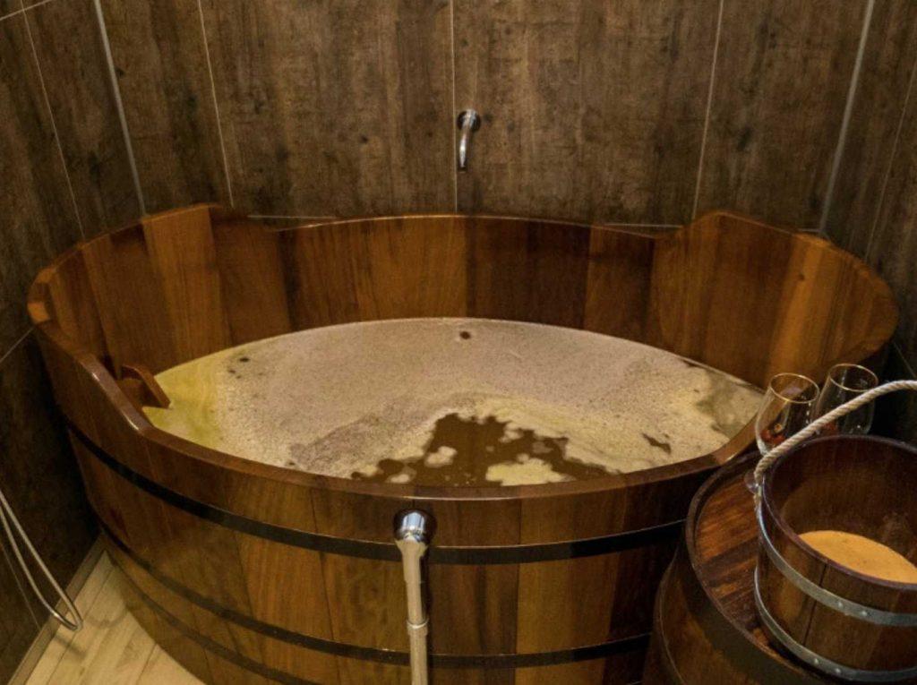 Spa nella birra
