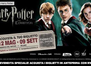 mostra Harry Potter Milano