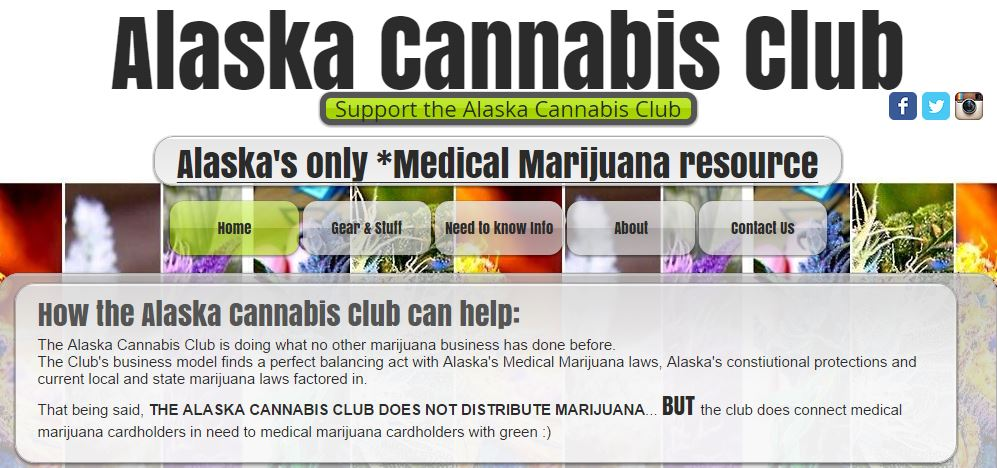 charlo greene alaska cannabis club