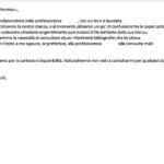 email sintesi