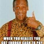 Bill Cosby, il meme sugli stupri