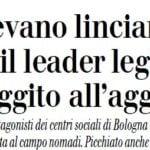 matteo salvini campo rom bologna 4
