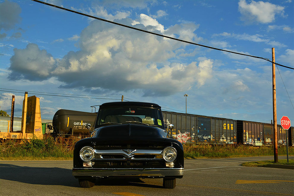 quando ti rubano auto ford f100 1955 2