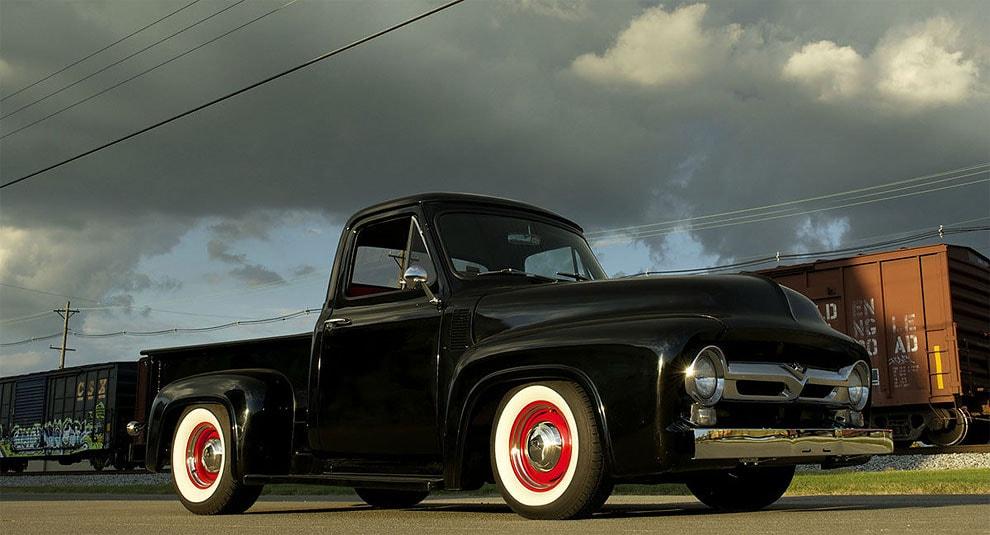 quando ti rubano auto ford f100 1955 3
