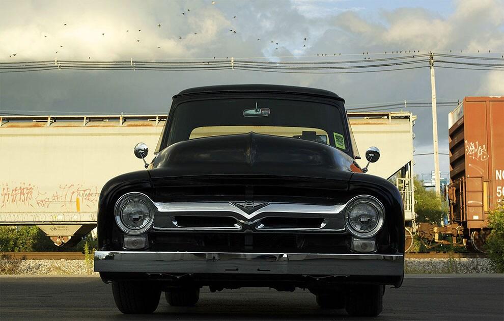 quando ti rubano auto ford f100 1955 5