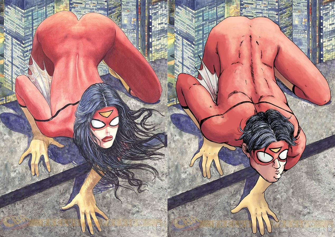 Spider woman supergirl comic erotic — photo 9
