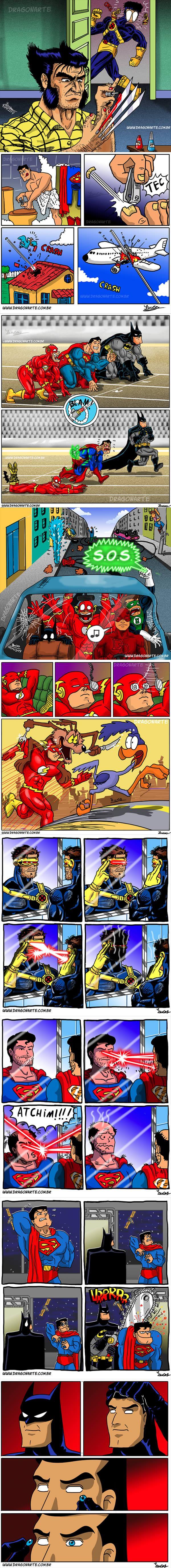 supereroi che combinano superdisastri