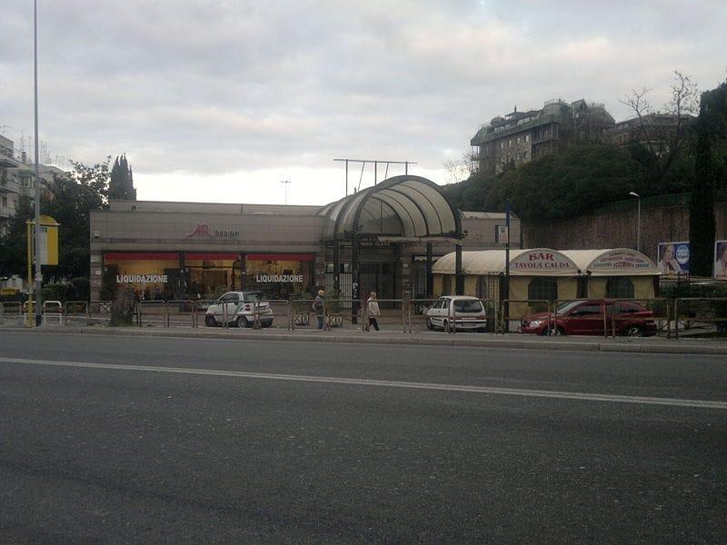 stazione vigna clara valle aurelia