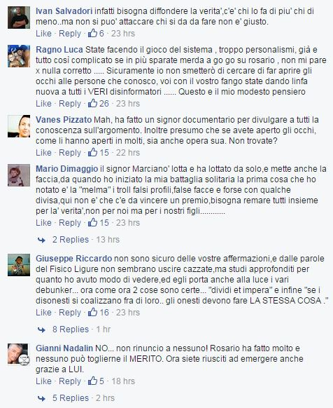 Il Fisico Ligure ha salvato molte vite!1 (Facebook.com)