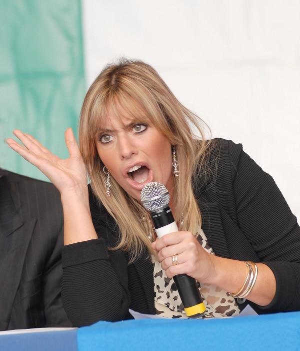 Alessandra Mussolini nunzia de girolamo