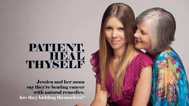 Jessica e sua madre via Medbunker