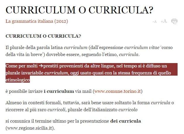 matteo renzi curriculum curricula