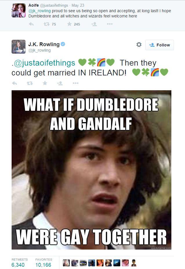 j k rowling irlanda omosessuali