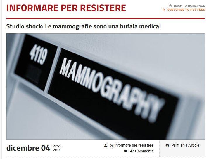 mammografie informare per resistere