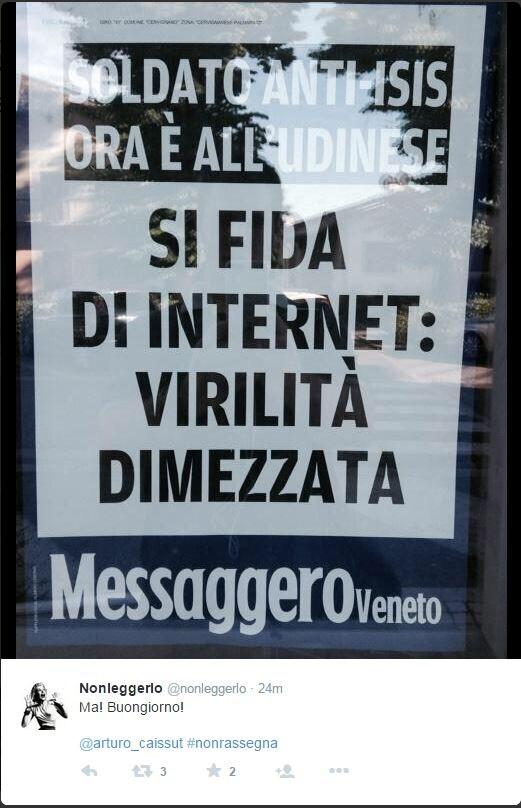 Maledetta Internet!11 (via Twitter.com)