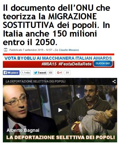 www.byoblu.com Messora Bagnai migranti ONU 2015-09-07 21-47-58