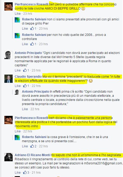 comunarie roma 2016 candidati roberta lombardi - 7