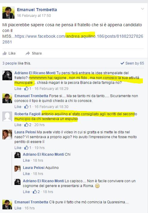comunarie roma 2016 candidati roberta lombardi - 9