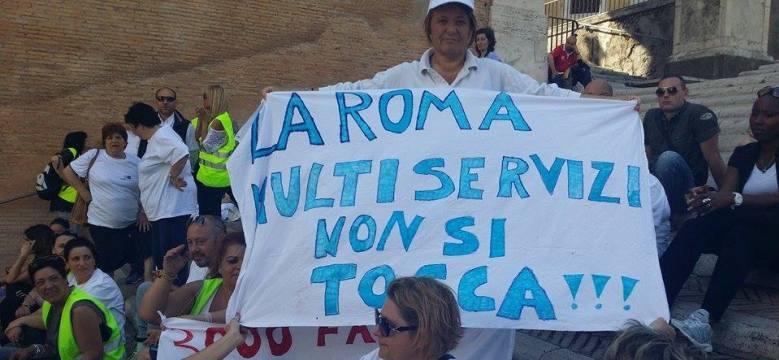 roma multiservizi giunta raggi