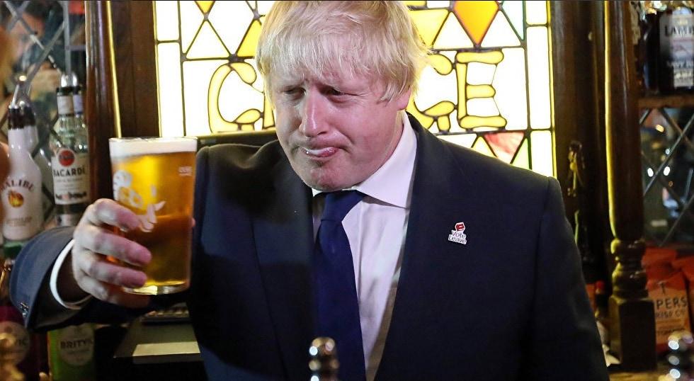 brexit johnson prosecco
